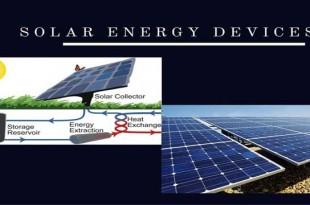 Solar Energy Devices