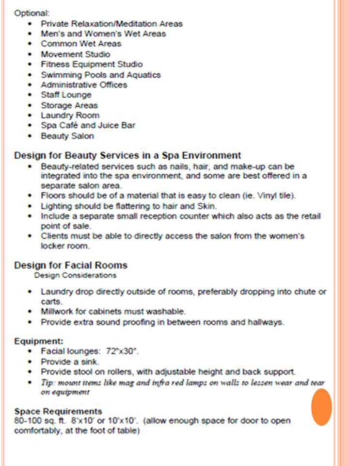 Library Study- Spa Design requirements -3