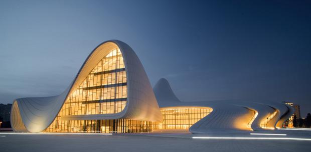 Heydar Aliyev Centre in Baku