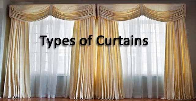types of curtains to enhance the appearance of your home