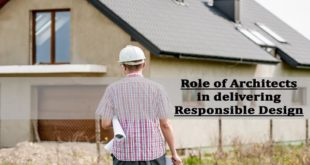 Role of architects in delivering responsible design