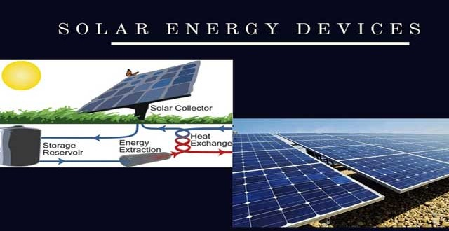 Solar Energy Devices