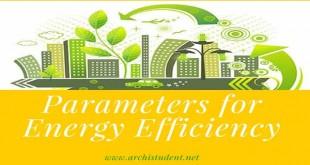 Parameters for energy efficiency
