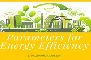 Parameters for energy efficiency