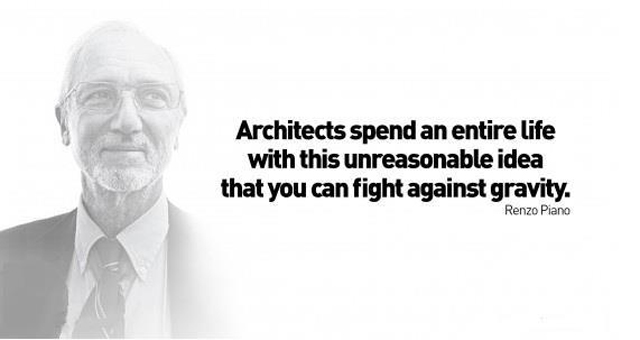 Quote by Renzo piano