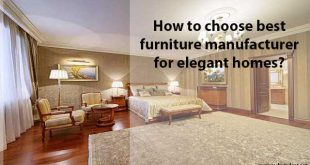 how to choose best furniture manufacturers