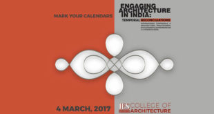 Engaging Architecture in India: Temporal Reconciliations