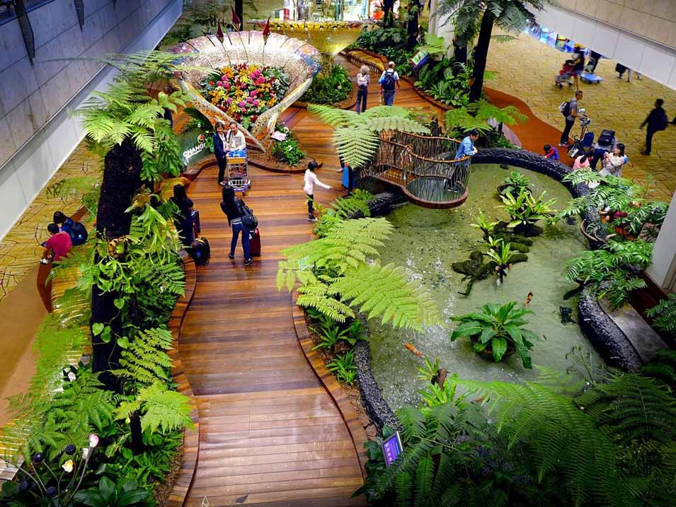 Innovative architectural design trends - Indoor landscape parks